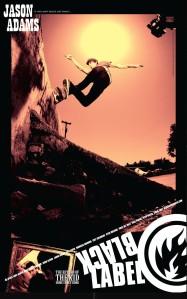 Jason Adams Black Label skateboards